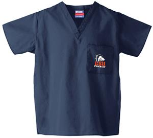Colorado State Univ-Pueblo Navy Classic Scrub Tops