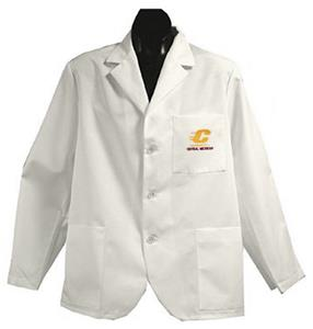 Central Michigan Univ White Short Labcoats