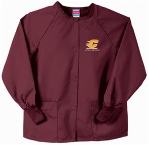 Central Michigan Univ Maroon Nursing Jackets