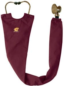 Central Michigan Univ Maroon Stethoscope Covers