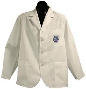 Concordia Univ-Seward White Short Labcoats