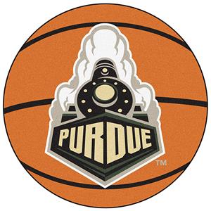 Fan Mats Purdue University Basketball Mat