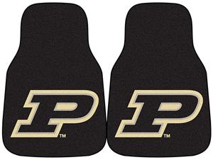 Fan Mats Purdue University Carpet Car Mats (set)