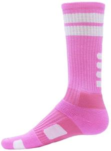 Red Lion Flash Pink Crew Socks