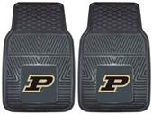 Fan Mats Purdue University Vinyl Car Mats (set)