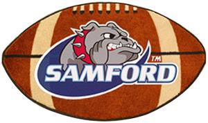 Fan Mats Samford University Football Mat
