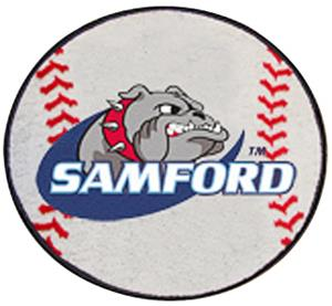 Fan Mats Samford University Baseball Mat