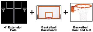 Create-Your-Own Back-To-Back Basketball System-4'