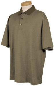 TRI MOUNTAIN Fremont Micro Striped Golf Shirt