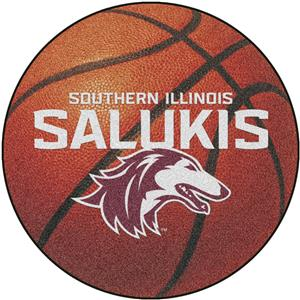 Fan Mats Southern Illinois Univ. Basketball Mat