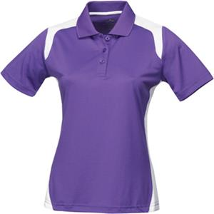 TRI MOUNTAIN Lady Blitz Ultra Cool Golf Shirt