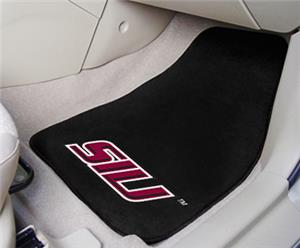 Fan Mats Southern Illinois Univ Carpet Car Mats
