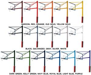 Porter Vertical Basketball Poles