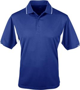 TRI MOUNTAIN Action Waffle Knit Golf Shirt