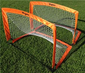 Sarson Viper Pop Up Backyard Soccer Goals (PAIR)