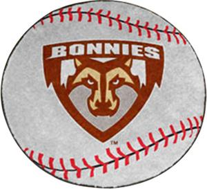 Fan Mats St. Bonaventure University Baseball Mat