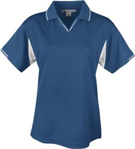 TRI MOUNTAIN Movement Women&#39;s Waffle Knit Polo