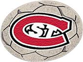 FanMats St. Cloud State University Soccer Ball Mat