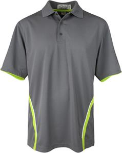 TRI MOUNTAIN Groove Polyester Mesh Golf Shirt