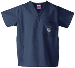 Concordia Univ-Seward Navy Classic Scrub Tops