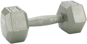 Gill Athletics 60LB-75LB Hexhead Dumbbells