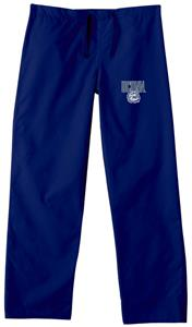 Univ of Connecticut Huskies Navy Scrub Pants
