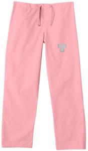 Univ of Connecticut Huskies Pink Scrub Pants