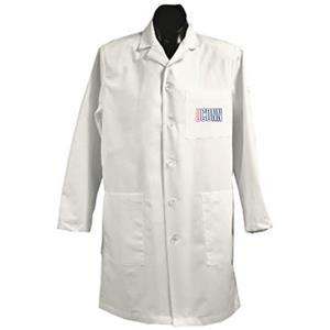 University of Connecticut White Long Labcoats