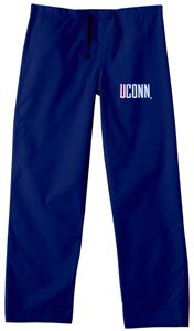 University of Connecticut Navy Classic Scrub Pants