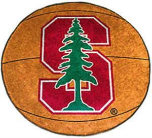 Fan Mats Stanford University Basketball Mat