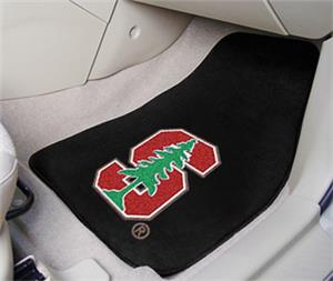 Fan Mats Stanford University Carpet Car Mats