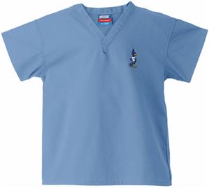 Creighton University Kid's Sky Scrub Tops