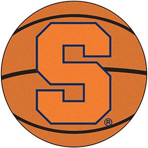 Fan Mats NCAA Syracuse University Basketball Mat