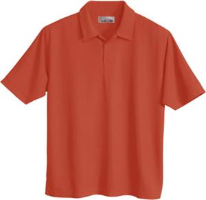 TRI MOUNTAIN Endurance Waffle Knit Golf Shirt