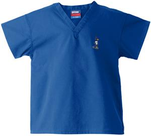 Creighton University Kid&#39;s Royal Scrub Tops
