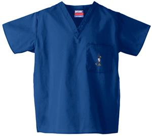 Creighton University Royal Classic Scrub Tops