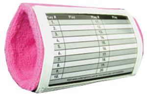Cutters Pink Triple Playmaker Wristcoach
