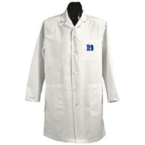 Duke University White Long Labcoats