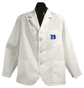 Duke University White Short Labcoats