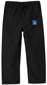 Duke University Kid&#39;s Black Scrub Pant