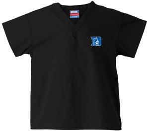 Duke University Kid's Black Scrub Tops