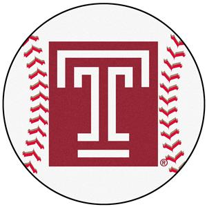 Fan Mats Temple University Baseball Mat