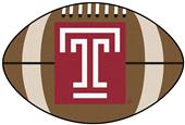 Fan Mats Temple University Football Mat