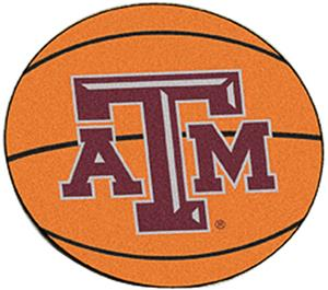 Fan Mats Texas A&M University Basketball Mat