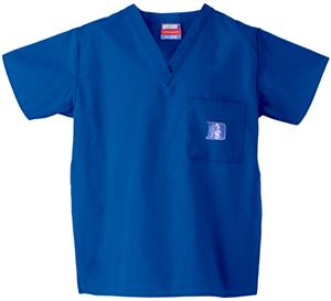 Duke University Royal Classic Scrub Tops