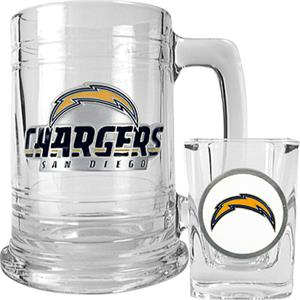 NFL San Diego Chargers Boilermaker Gift Set