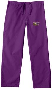 East Carolina Univ Purple Classic Scrub Pants