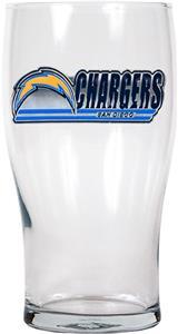 NFL San Diego Chargers 20 oz Pub Glass
