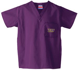 East Carolina Univ Purple Classic Scrub Tops