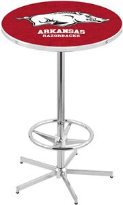 University of Arkansas Chrome Pub Table